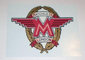 Matchless Transfer for Oil Tank 1962-65.Large.