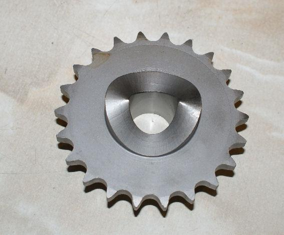 AJS/Matchless Crankshaft Sprocket with Cam Lobes for Cush Drive 22T.