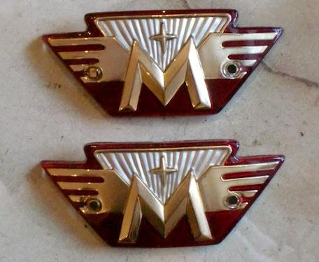 Matchless Tank Badge Plastic / Pair