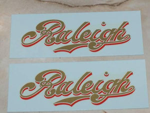 Raleigh Tank Transfer 1921/27 /Pair