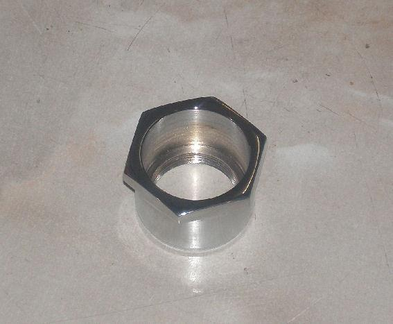 AJS/Matchless Adjuster Fork Nut Chrome