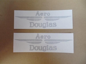 Douglas Aero Tank Sticker 1937 /Pair