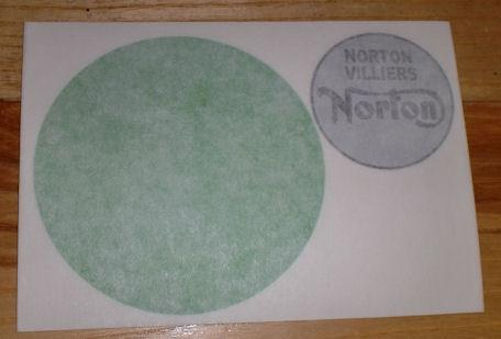 Norton Tank Top Sticker 1968