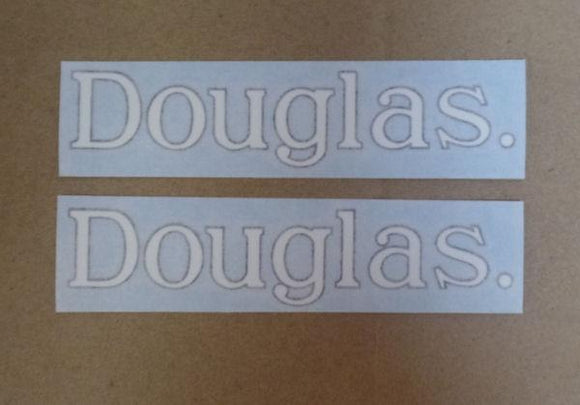 Douglas Tank Sticker 1913/54 /Pair