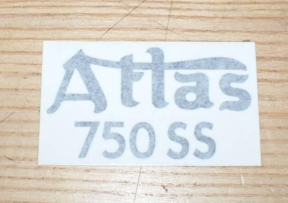 Norton Atlas 750 SS Sticker 1962 on