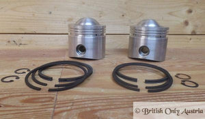 AJS/Matchless 650cc Twin Pistons/Pair.+060