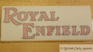 Royal Enfield Sticker for Petrol Tank 1935-55