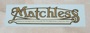 Matchless Transfer for Rear Mudguard 1946-63