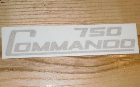 Norton Commando 750 Tank Sticker
