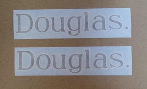 Douglas Tank Sticker /Pair
