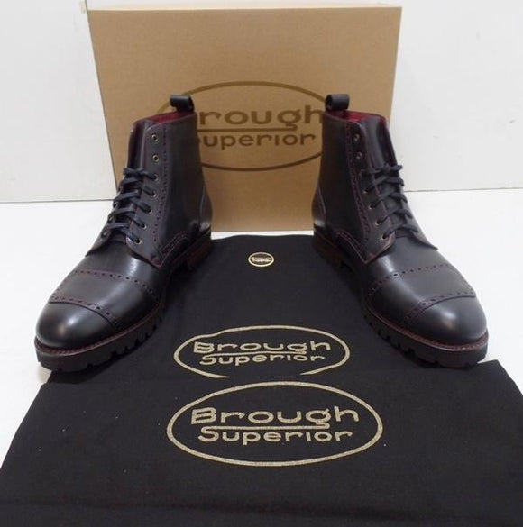 Brough Superior Shoes/Boots Black Size 41-46. Benny Picaso