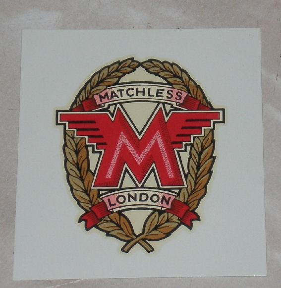 Matchless Transfer for Toolbox 1936/65