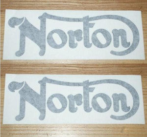 Norton Commando Tank Sticker /Pair