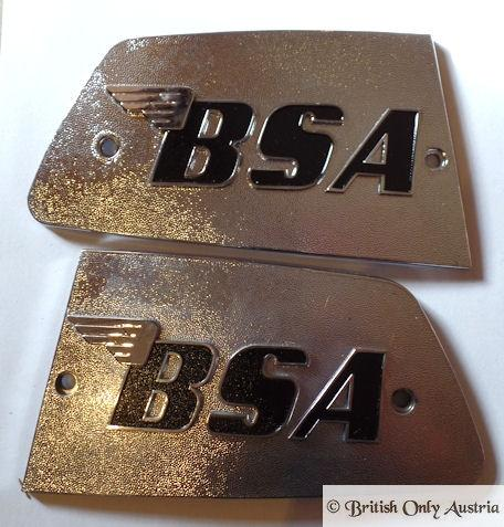 BSA Rocket 3 UK Tank Badge Pair