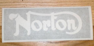 Norton Stencil Sticker for Seat (Fabric Paint required)