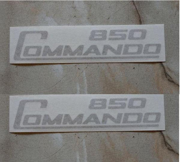 Norton Commando 850 Side Panel Sticker, Gold /Pair