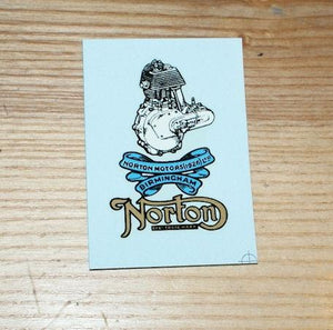 Norton Transfer for Headstock - 1926 on