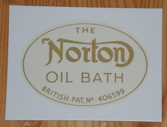 Norton Transfer Oilbath to Chaincase 1934