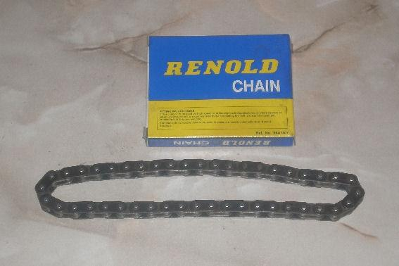 Renold Chain for Norton Mod. 1/16H/18/ES2, 44 Links, 3/8 x 5/32
