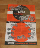 BSA - The World´s Largest Motor Cycle Manufacturers Brochure