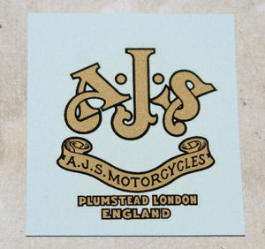 AJS Transfer for Headstock 1931/39