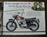 Another year of Triumph, Brochure