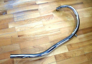 AJS/Matchless Exhaust Pipe Matchless G3L SV Rigid, Alloy Head 350cc. 1949- 1 1/2""