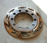 Vincent Series B, C, D Spoke Flange 10-hole stainless