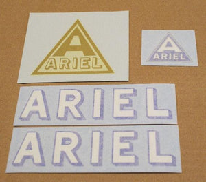 Ariel Sticker Set 1927
