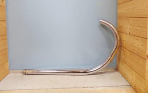 "AJS/Matchless Exhaust Pipe 1 5/8"" NOS -1954"