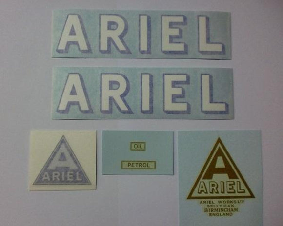 Ariel Transfer/Sticker Set 1928