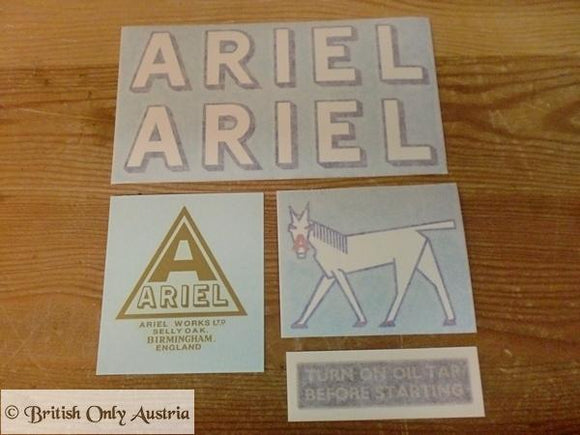 Ariel Transfer/Sticker Set 1929
