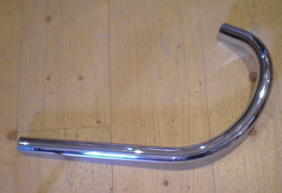 AJS/Matchless 250/350/500cc Exhaust Pipe 1 3/4