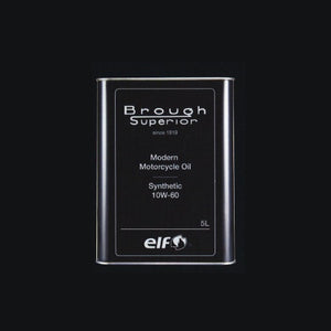 Brough Superior ELF Modern Motorcycle Oil Synthetic 10W-60  5Litre