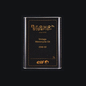 Brough Superior ELF Vintage Motorcycle Oil 20W-50 5Litre