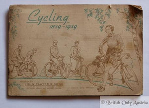 Cycling 1839-1939 Issued by John Player & Sons, Brochure