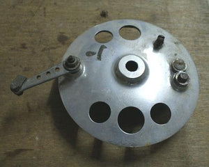 Norton Brake Plate modified, used