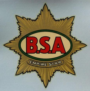 BSA Empire Star Tank Sticker 1936/38