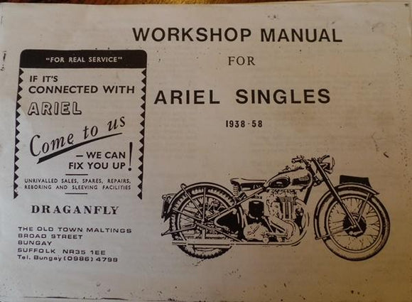 Ariel Singles Workshop Manual 1938-58 copy