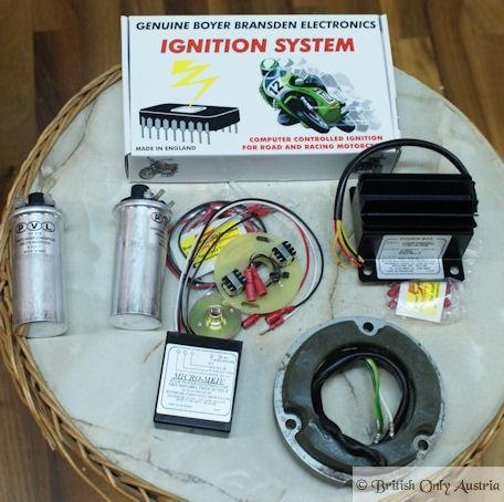 Boyer Electronic Ignition 12V Triumph/BSA Twin /SET