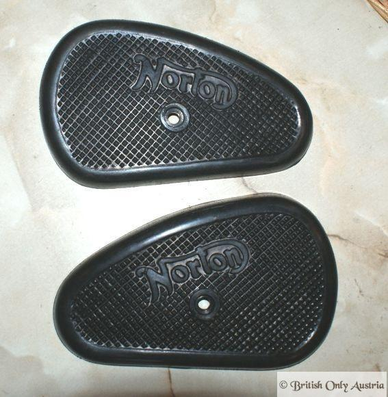 Norton Kneegrip Rubbers 1 Hole /Pair M50/ES2/M18/16H