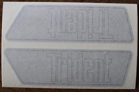 Triumph Trident Side Panel Sticker 1969 /Pair