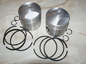 AJS/Matchless Pistons/Pair 500cc Twin +020 -1955