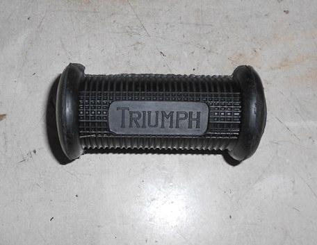 Triumph Kickstart Rubber with Logo closed end