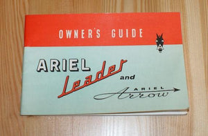 Ariel Leader and Ariel Arrow, Owner´s Guide