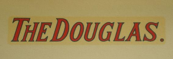 Douglas Transfer for Tank 1909/13