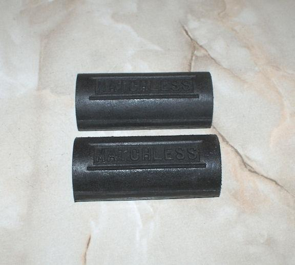 Matchless Footrest Pedal Rubbers /Pair