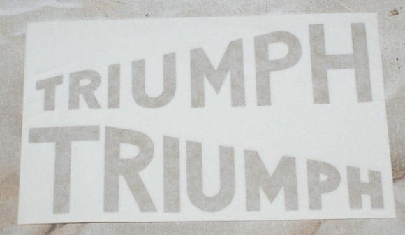 Triumph Junior Sticker (1931/33