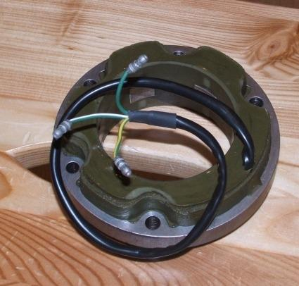 Alternator Stator Lucas 6 V. Single Phase. Lucas Replica.