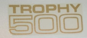 "Triumph ""Trophy 500"" Panel Transfer 1970 on"